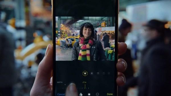 """Rozmycie tła w nowej reklamie Apple'a pt. """"Depth Control"""""""