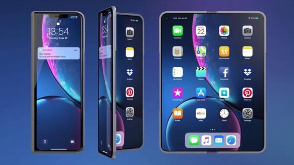 Jak mógłby wyglądać składany iPhone Fold? – pierwszy koncept już jest…