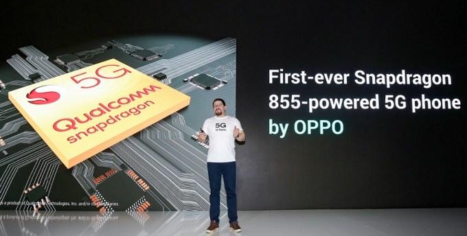 OPPO jako pierwsze użyje chipsetu Snapdragon 855 w smartfonie 5G