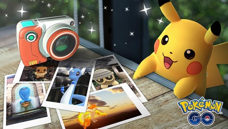Funkcja GO Snapshot w grze Pokemon GO