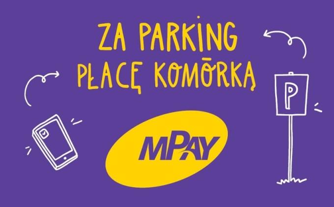 mPay - za parking płacę komórką