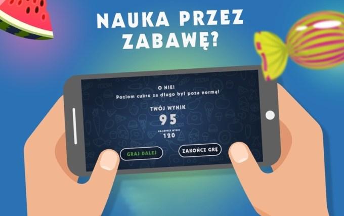 Gra mobilna dla diabetyków SugarBuster