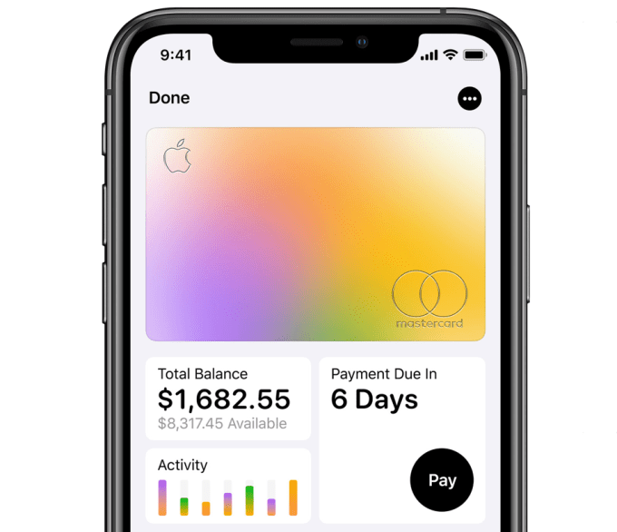 Apple Card (Apple Wallet)