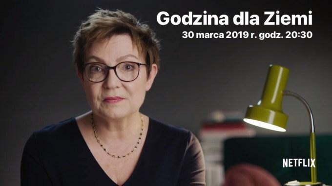Krystyna Czubówna – Godzina dla Ziemi (Netflix, 30 marca 2019 r.)