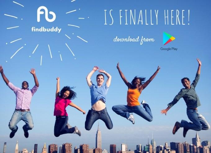 """Aplikacja mobilna """"Findbuddy"""""""