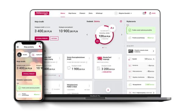 Nowy serwis bankowości internetowej Millenet oraz aplikacja mobilna już wkrótce