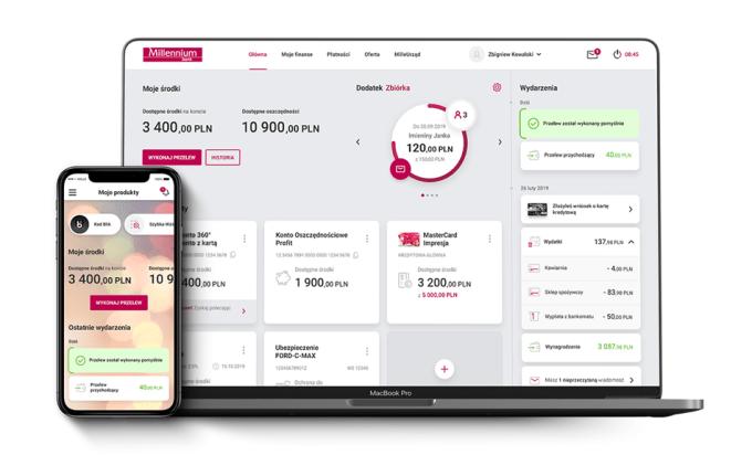 Nowy Millenet i aplikacja mobilna Banku Millennium