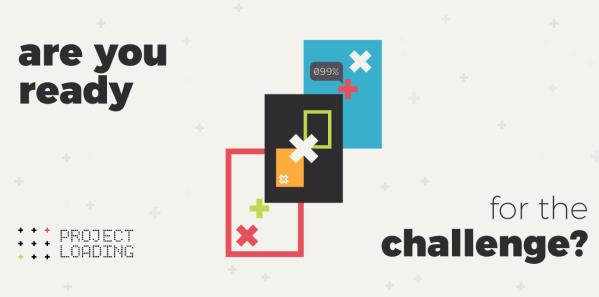 """""""Project Loading"""" to  stary styl gry mobilnej w nowym wydaniu"""
