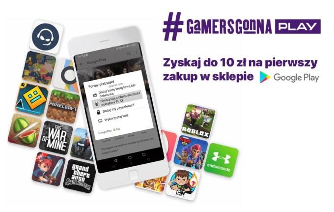 """Promocja 10 zł cashbacku w sklepie Google Play z płatnościami """"Zapłać z PLAY"""""""
