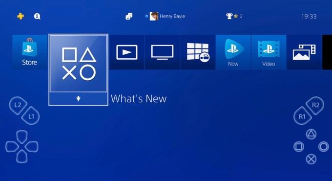 PS4 Remote Play (zrzut ekranu)