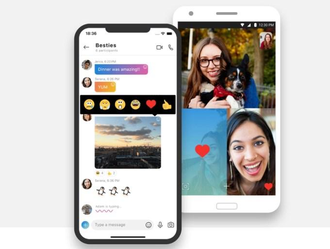 Skype na urządzenia mobilne z systemami iOS i Android