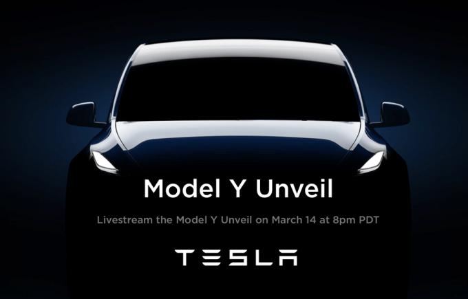 TESLA Model Y (15.03.2019)