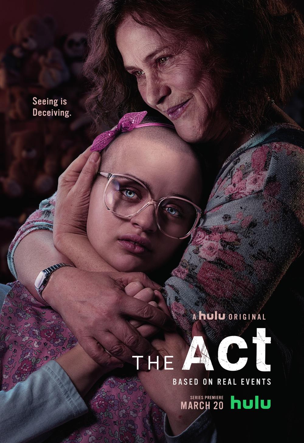 """Plakat serialu """"The Act"""" (Hulu, 2019)"""