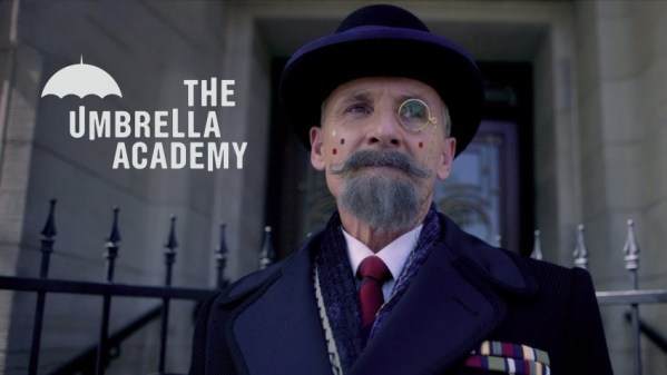 "Pan Kleks promuje ""The Umbrella Academy"" Netfliksa ☂️"