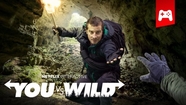 "Nowy serial interaktywny Netfliksa pt. ""You vs. Wild"""