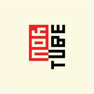 Logo YouTube (styl Bauhaus) fot. 99design