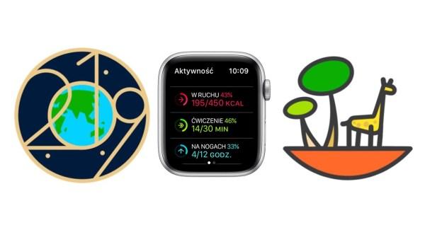 Odznaka z okazji Dnia Ziemi w Aktywności na Apple Watchu