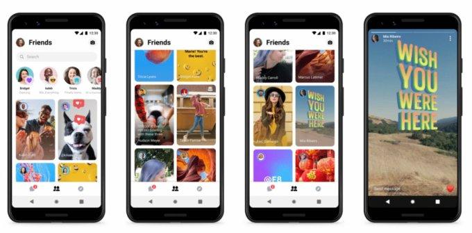 Nowy wygląd i funkcje w aplikacji mobilnej Facebook Messenger