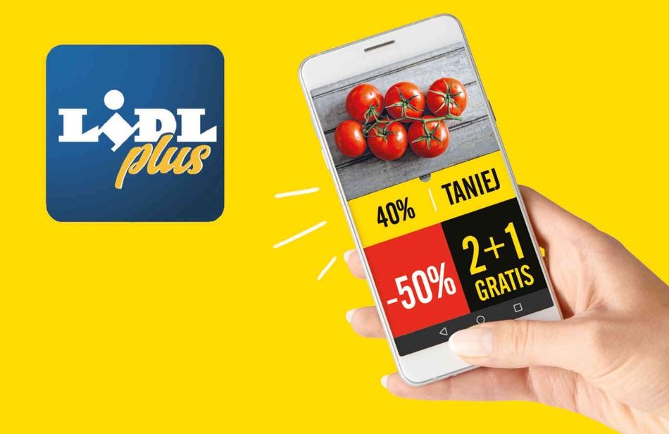 Aplikacja rabatowa Lidl Plus