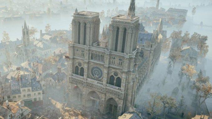Katedra Notre Dame (Ubisoft)