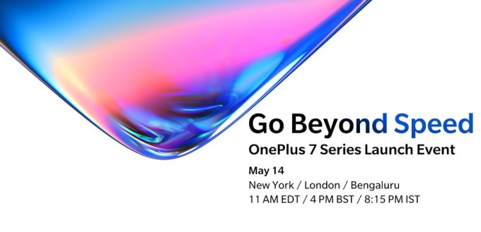 OnePlus 7 i OnePlus 7 Pro launch event