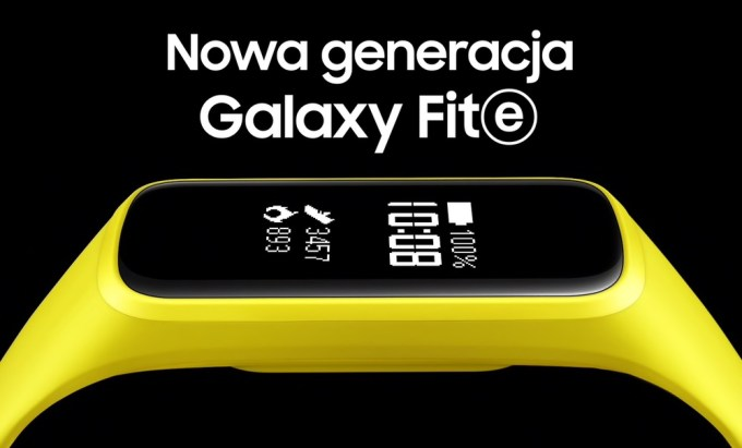 Samsung Galaxy Fit-e (opaska fitness 2019)