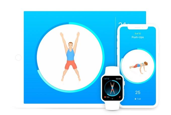 Aplikacja mobilna Seven - 7 Minute Workout