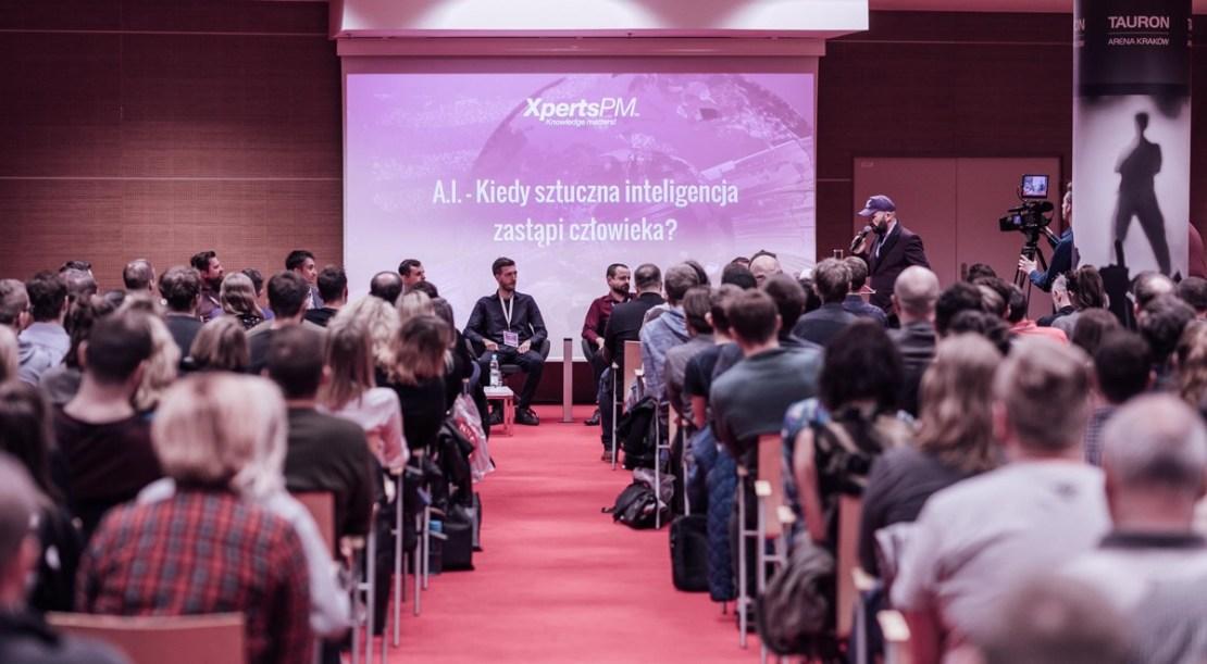 Zdjęcie z konferencji AI Xperts.PM