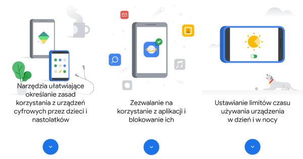 Rozwiązania Google, które pomagają dorosłym chronić dzieci