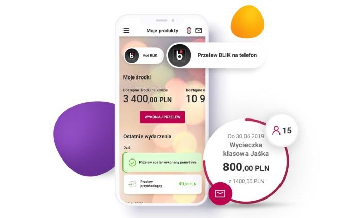 Nowa aplikacja mobilna Banku Millennium (screen)
