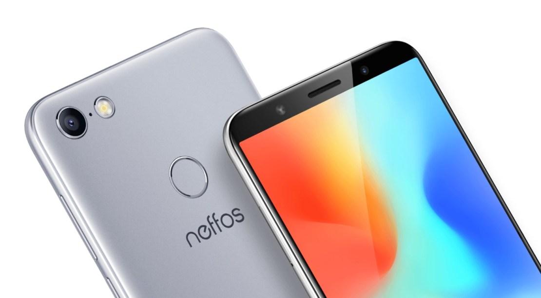 Design smartfona Neffos C9A