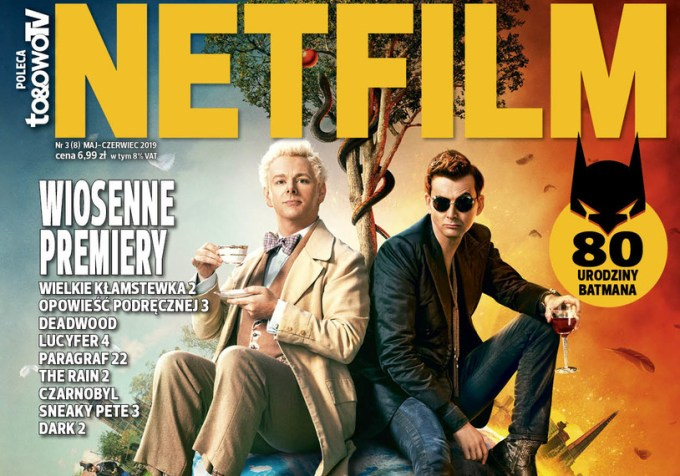 Okładka 9. numeru magazynu Netfilm