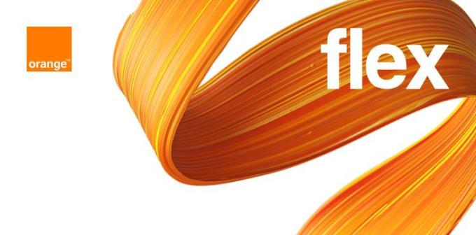 Orange Flex - logo