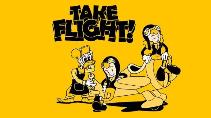 "Gra mobilna ""Take Flight!"""