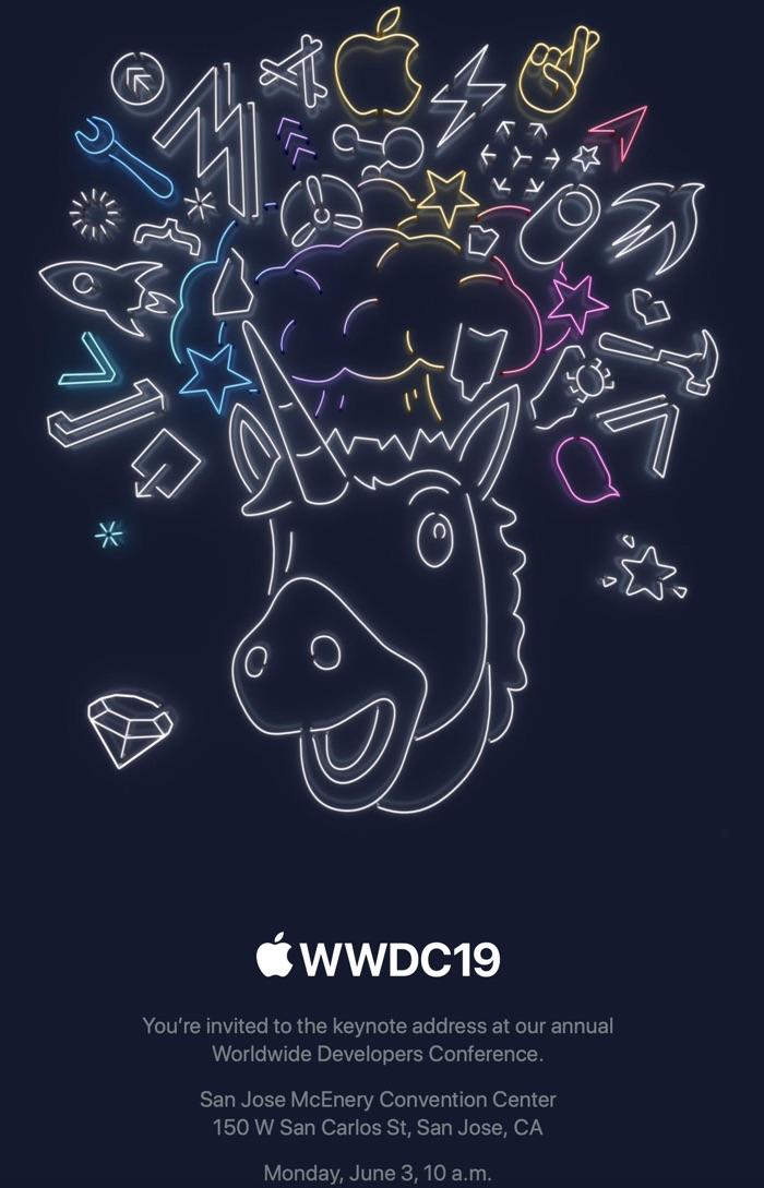 Zaproszenie na WWDC 2019