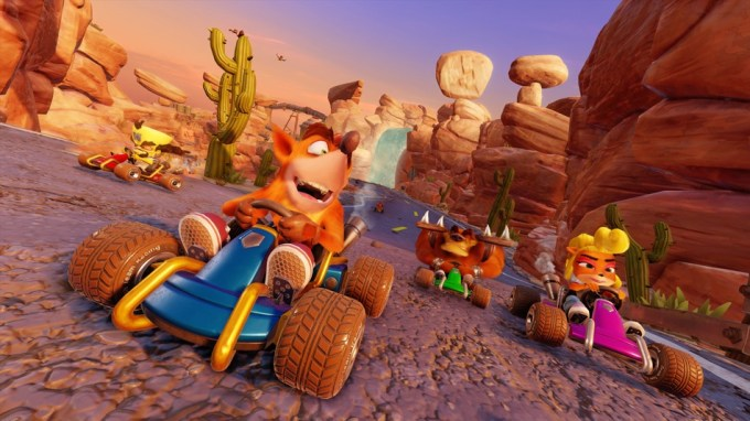"Zrzut ekranu z gry ""Crash Team Racing: Nitro-Fueled"""