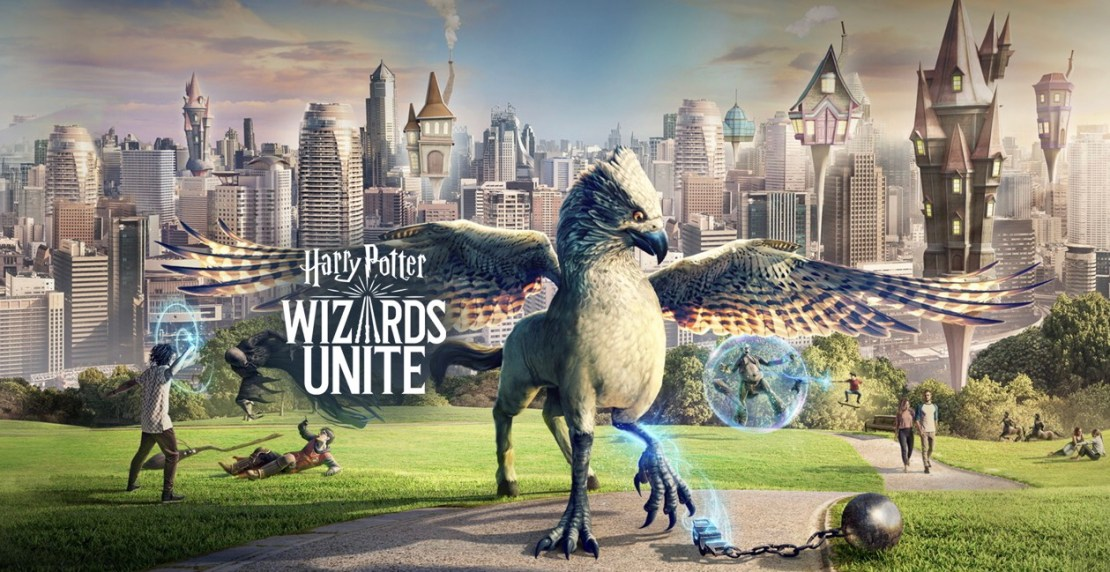 Harry Potter: Wizards Unite od Ninatic w polskiej wersji językowej