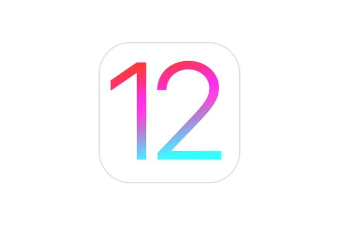 iOS 12 (logo/ikona)