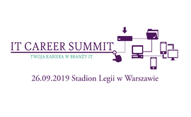 Logo wydarzenia IT Career Summit 2019