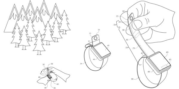 Apple patentuje pasek Apple Watcha z wbudowaną kamerką