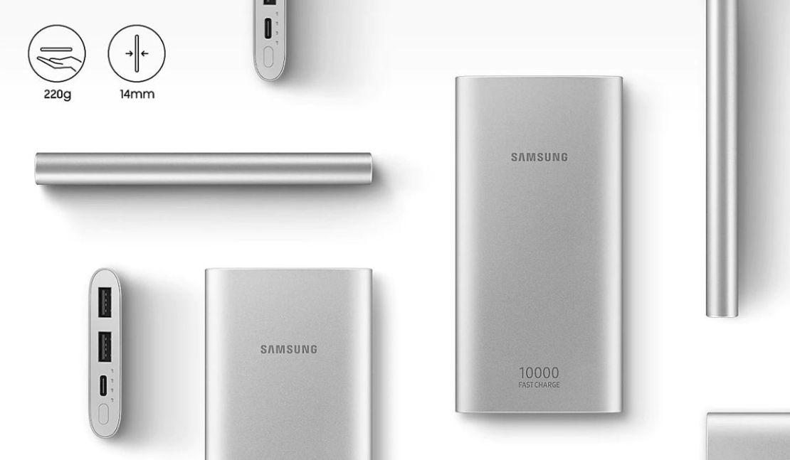 Samsung EB-P1100 10000 mAh Srebrny