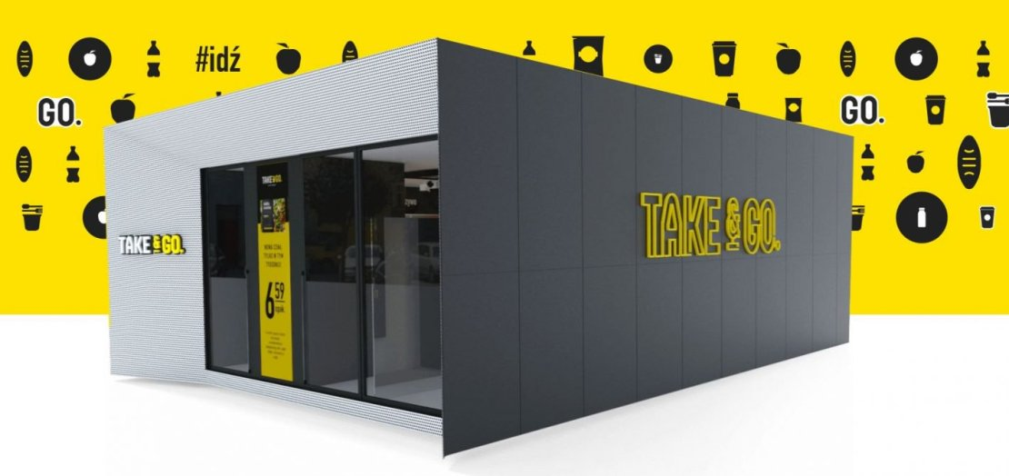 Makieta sklepu Take&Go