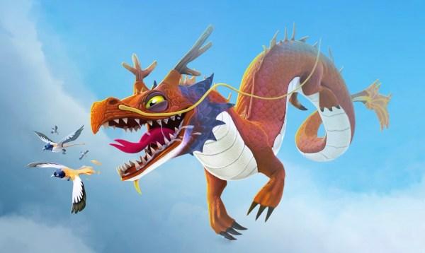 Hungry Dragon z gry mobilnej Ubisoftu zaprasza na obiad!