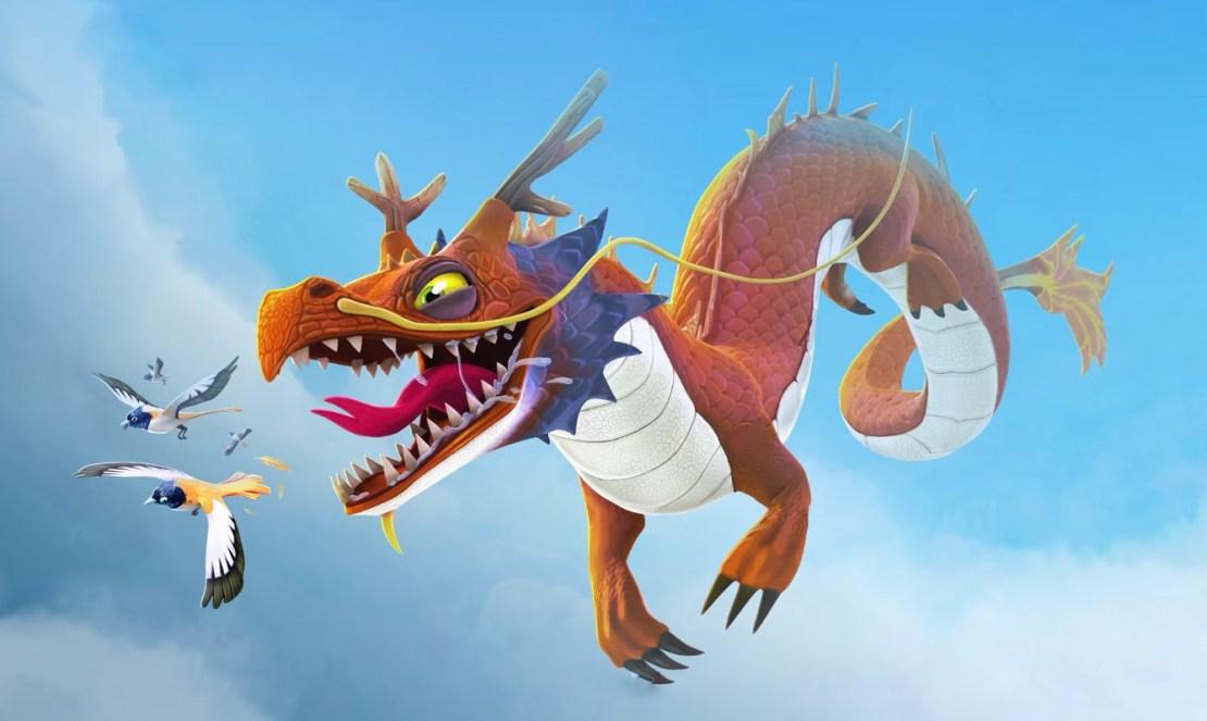 "Gra mobilna ""Hungry Dragon"" od Ubisoftu"