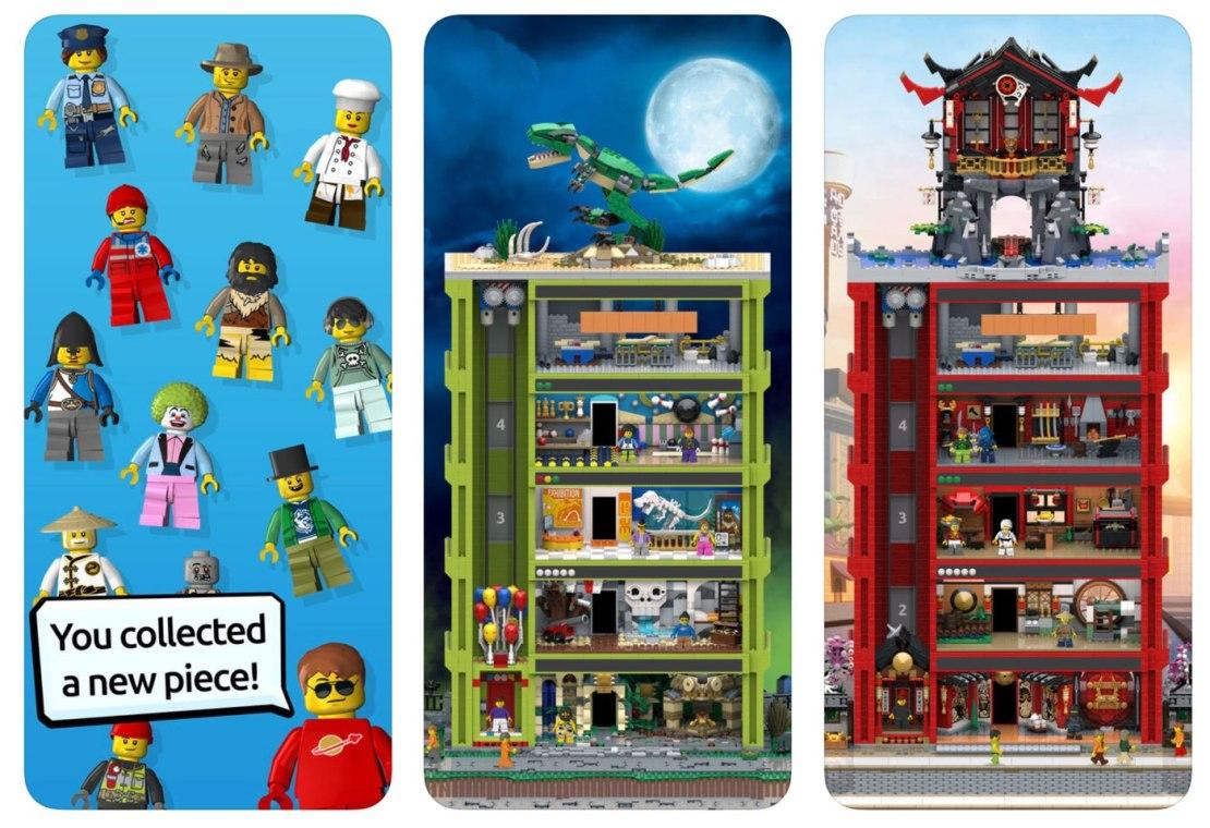 """Zrzuty ekranu z gry """"LEGO Tower"""""""