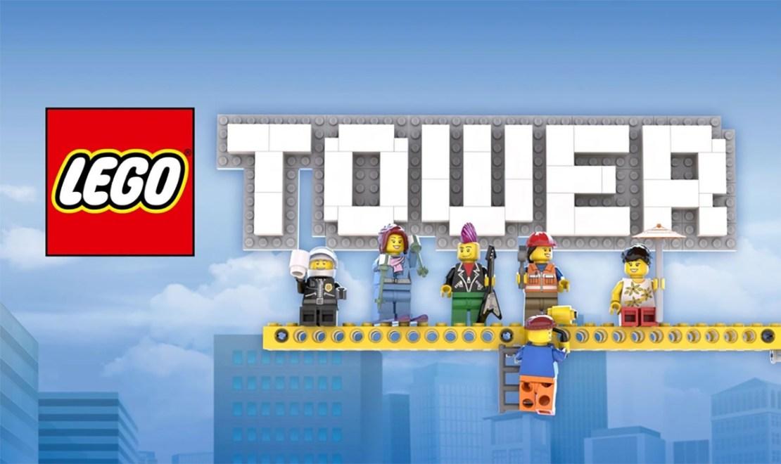 """Gra mobilna """"LEGO Tower"""""""