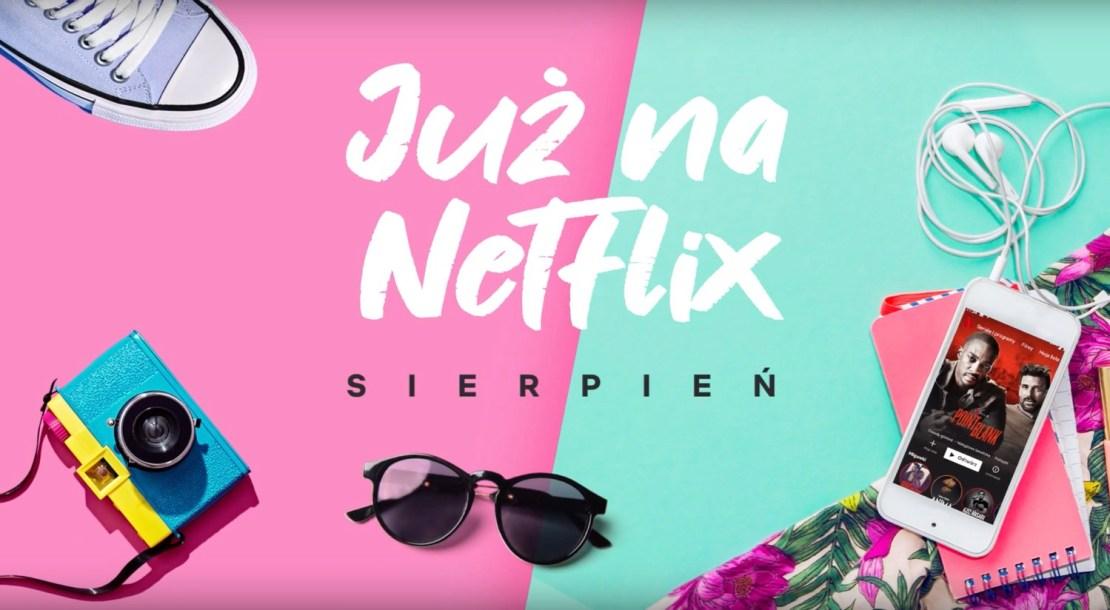Nowości w serwisie Netflix w sierpniu 2019 r.
