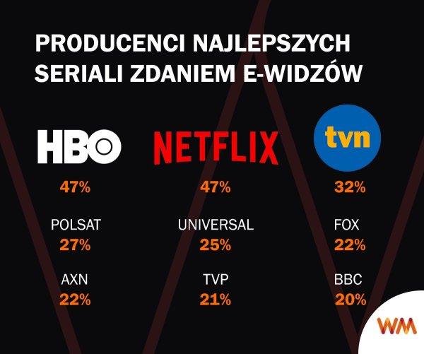 Już 15 mln Polaków ogląda seriale w serwisach VOD