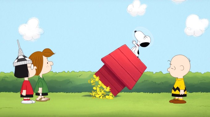 Snoopy in Space (Apple TV+)