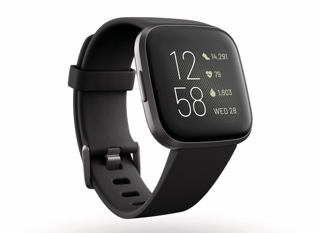 Fitbit Versa 2 (kolor czarny)